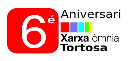 Logotip 6è aniversari Òmnia Tortosa