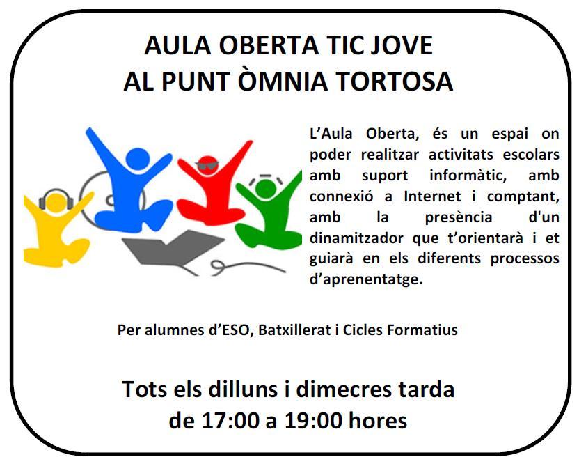 imatge de l'activitat per joves a Tortosa