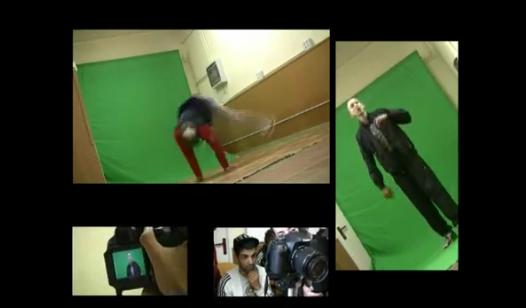 Imatges del rodatge del videoclip