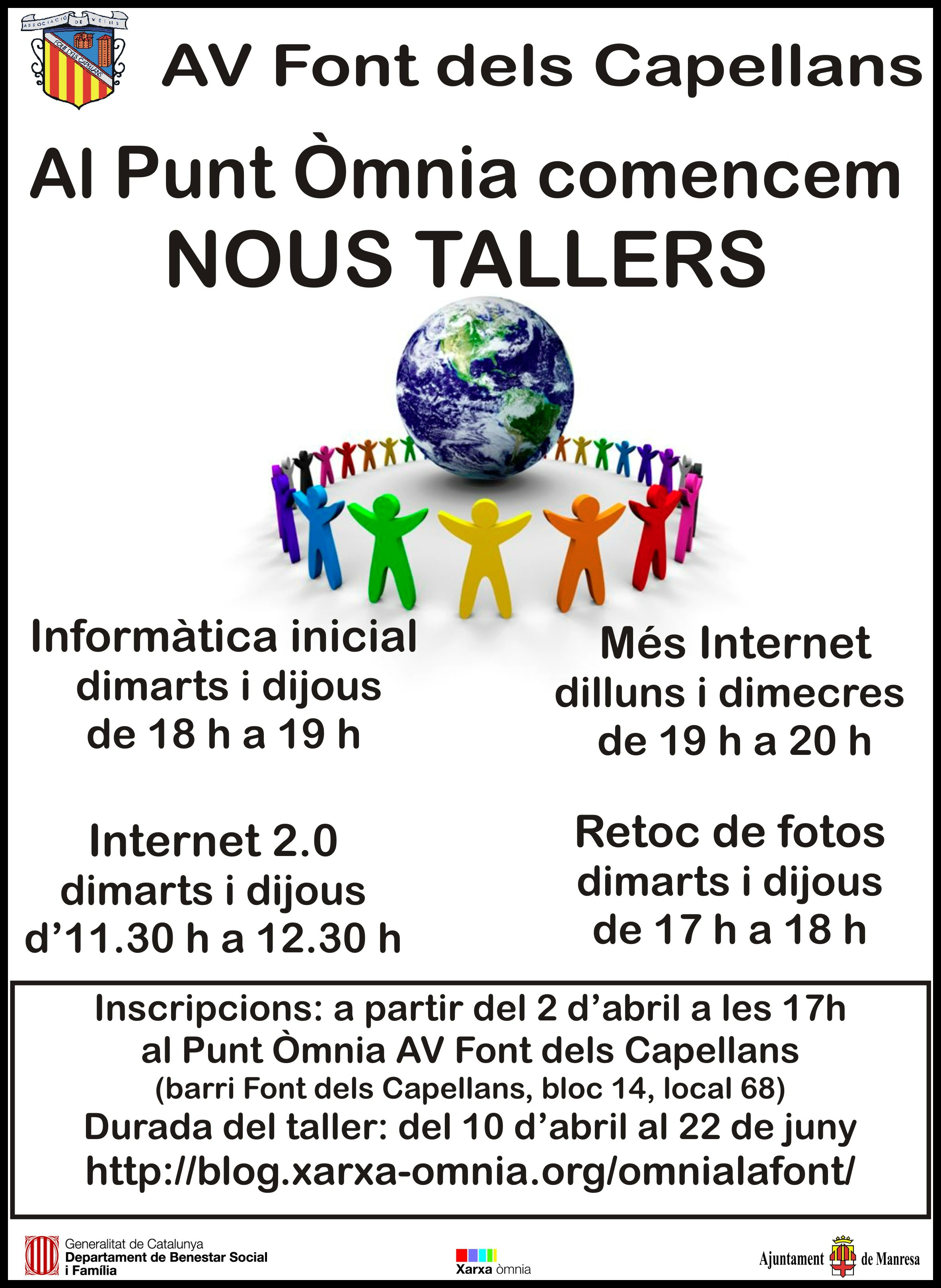 Cartell dels nous Tallers