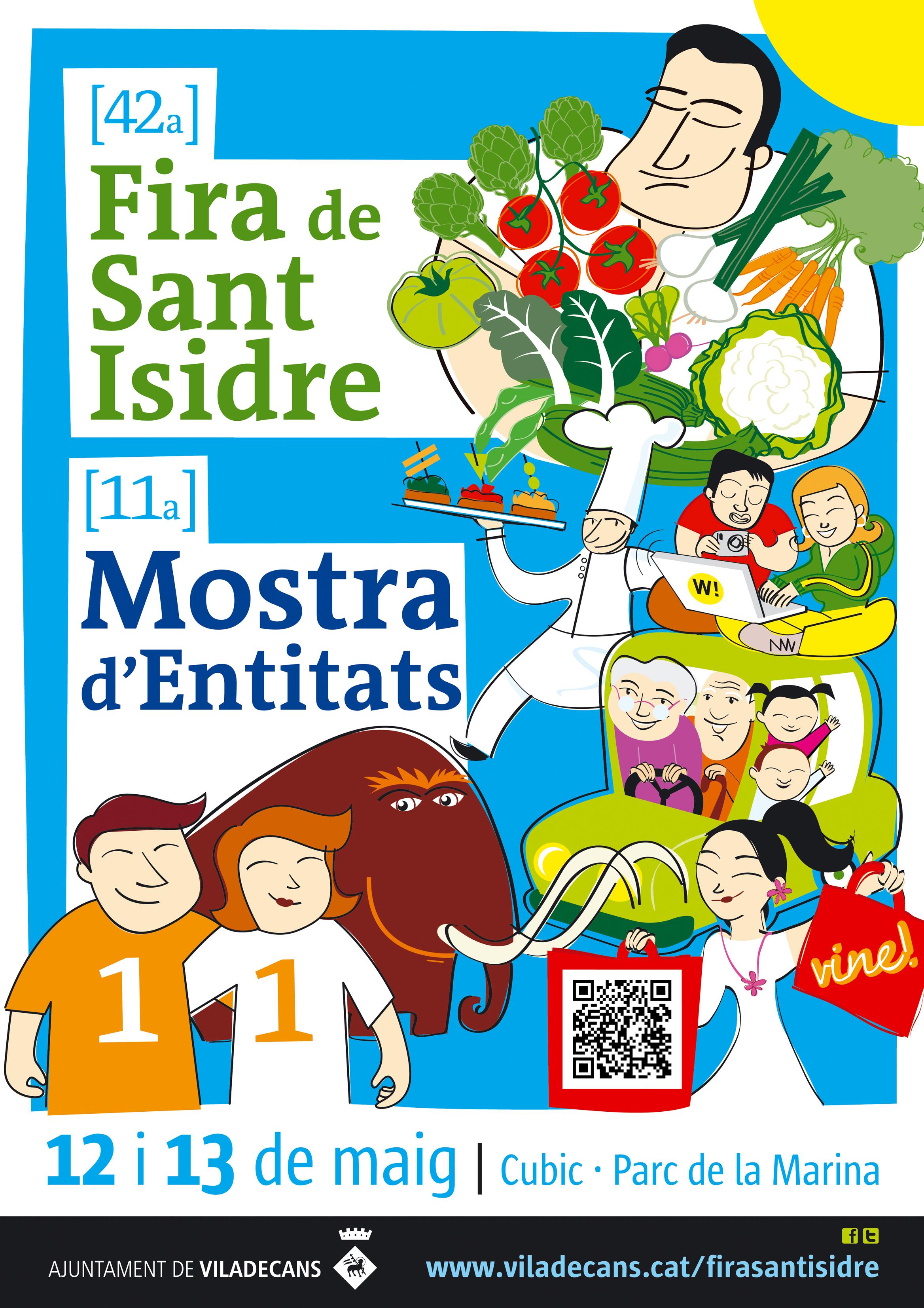 Cartell de la Fira de Sant Isidre 2012