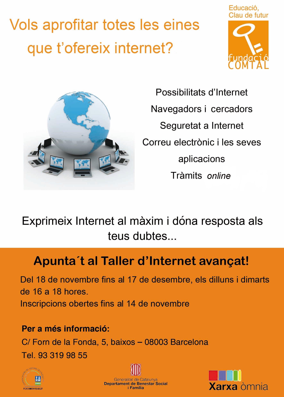 cartell taller Internet Tria