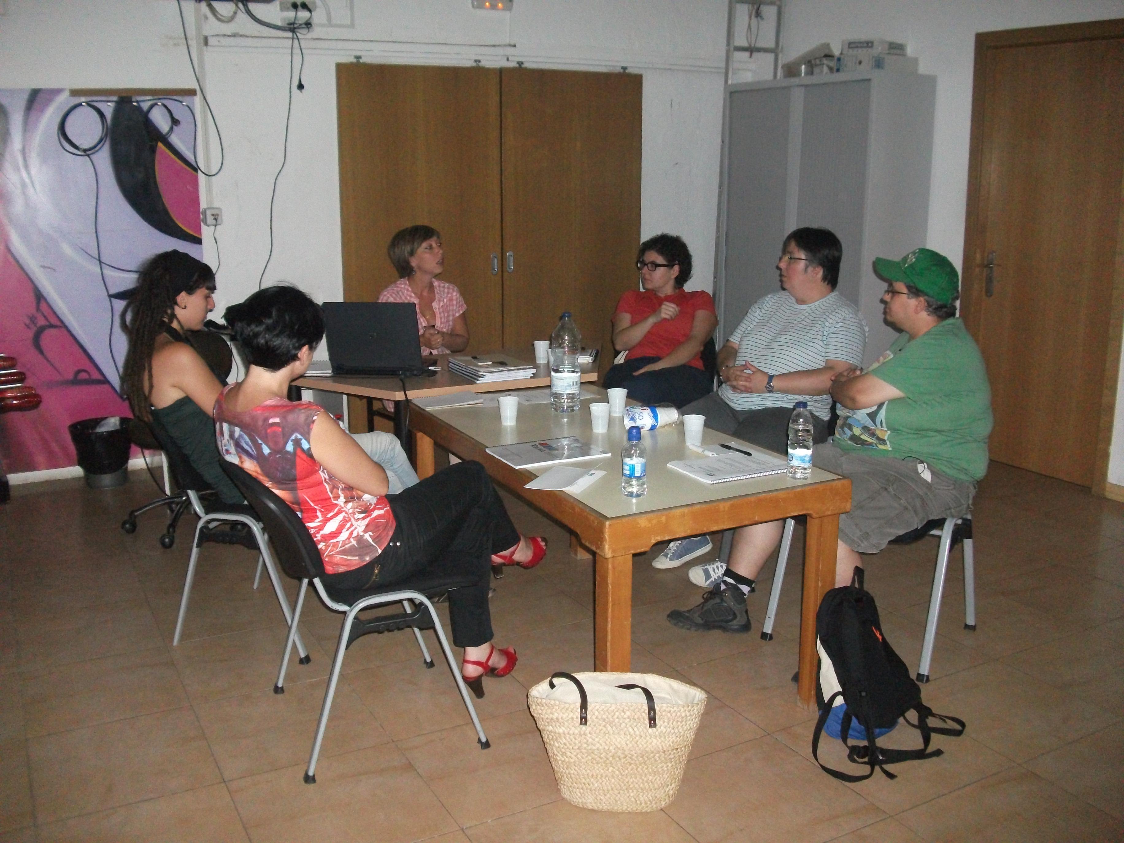 foto desenvolupament quarta edició formació incial òmnia 2012