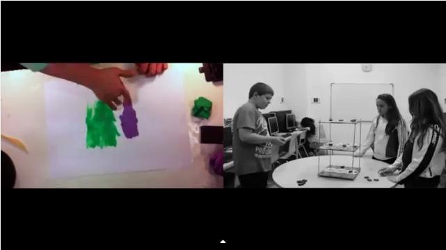 """fotograma del vídeo """"Finestres emotives"""" de l'Òmnia Casal dels Infants del Raval"""
