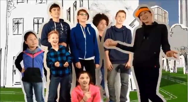 fotograma d'un moment del vídeo promocional del Dia de la Internet Segura 2014