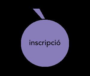 Icona d'inscripció, una lletra o majúscula amb accent agut