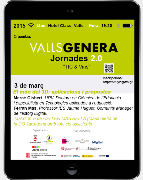 smartphone Jornades 2.0 Valls
