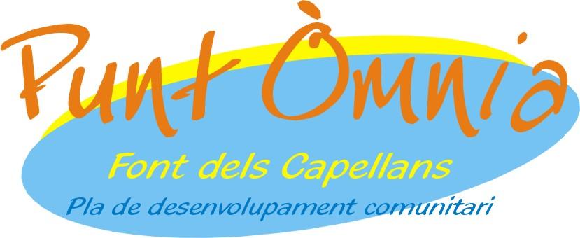 logotip punt òmnia font dels capellans pla comunitari
