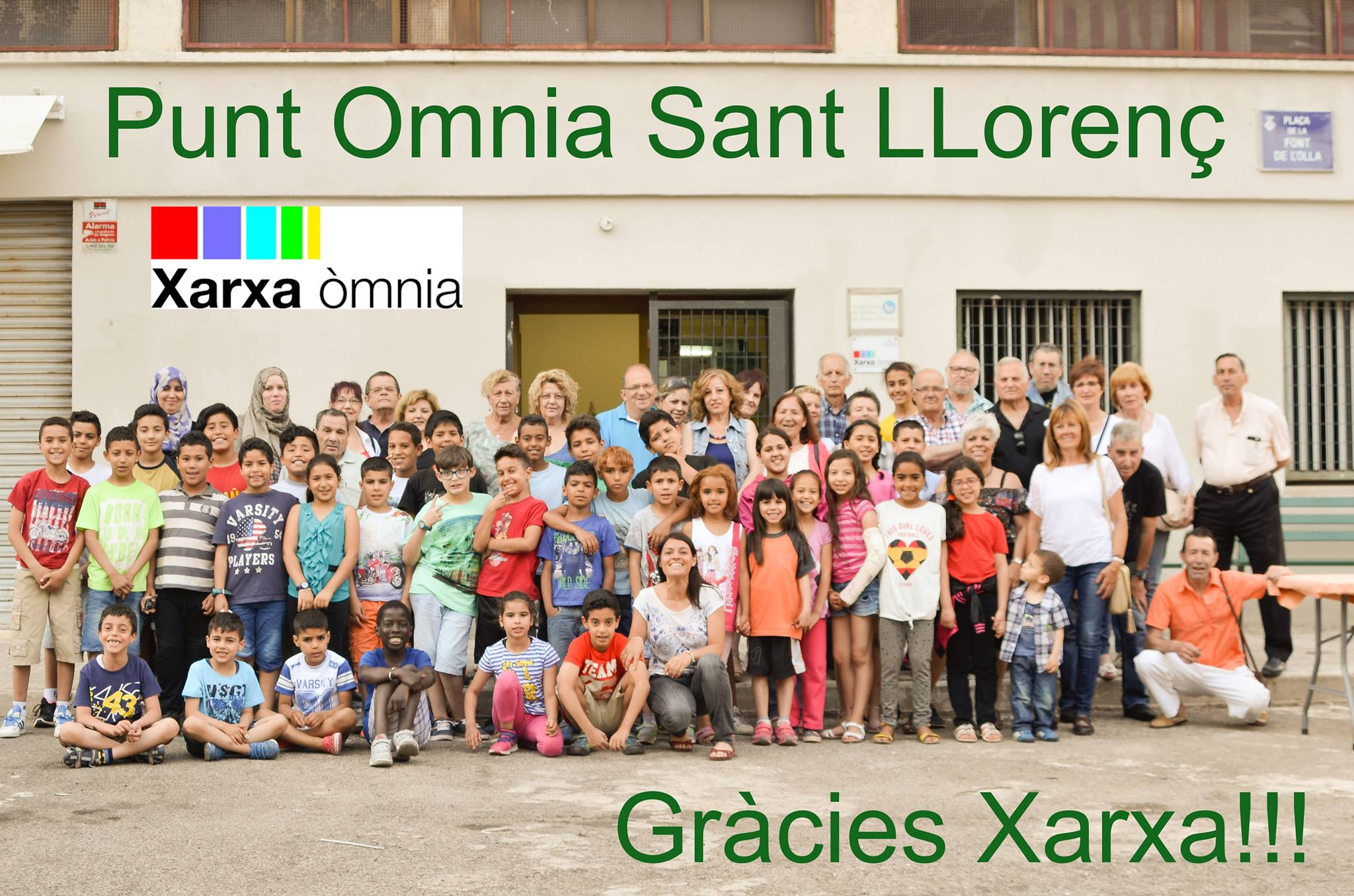Participants del Punt Òmnia Sant Llorenç