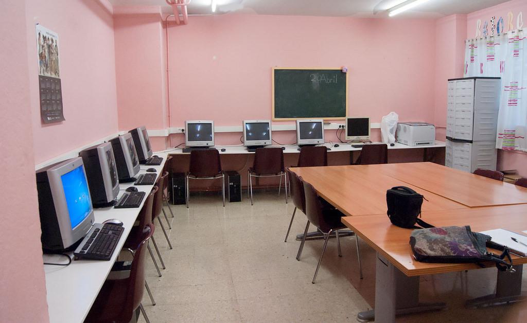Imatge de les noves instal·lacions del Punt Òmnia La Pau.
