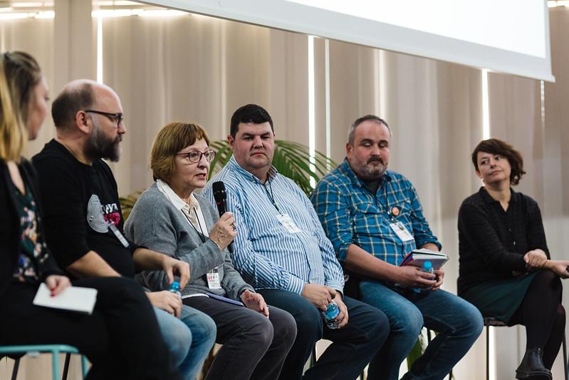 Participants de la jornada 20 anys de la Xarxa Òmnia