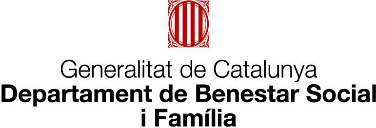 Logotip del Departament de Benestar Social i Familia