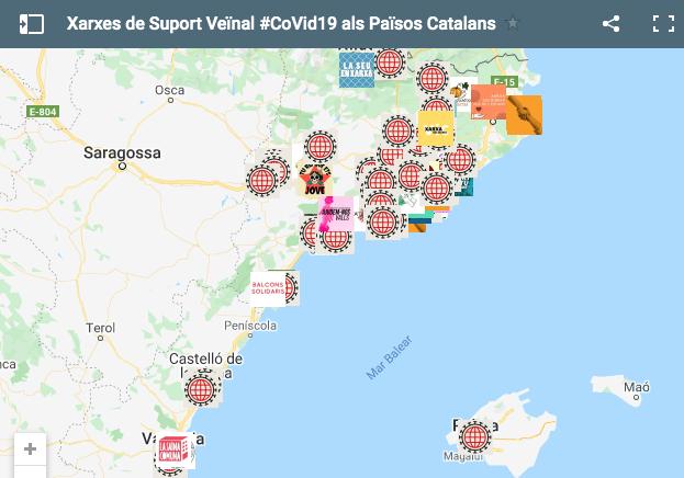 Mapa de xarxes de suport veïnal
