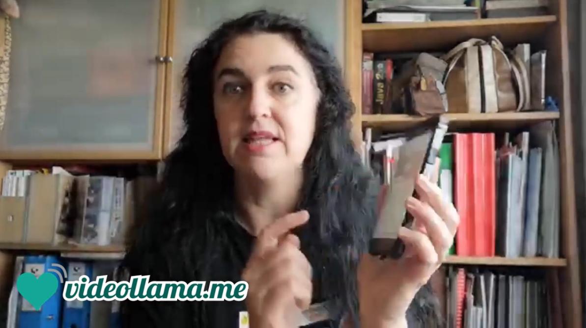 Captura del videotutorial Videollama.me
