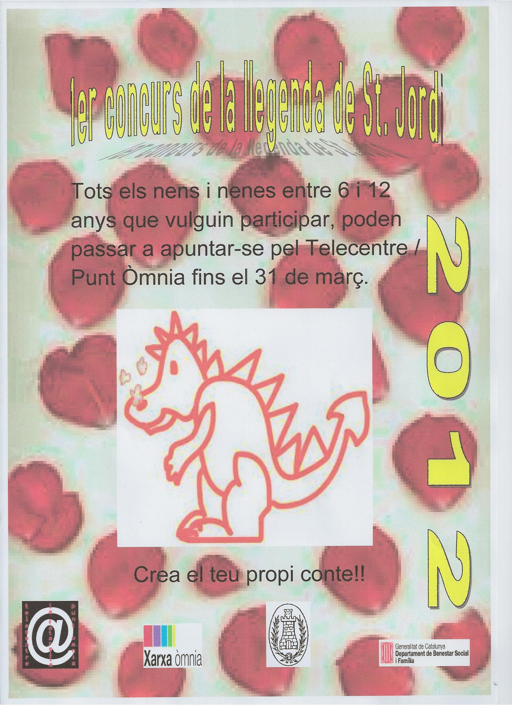 1r concurs de la llegenda de St. Jordi