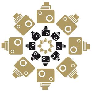 Logotip dels concursos Clic 2011