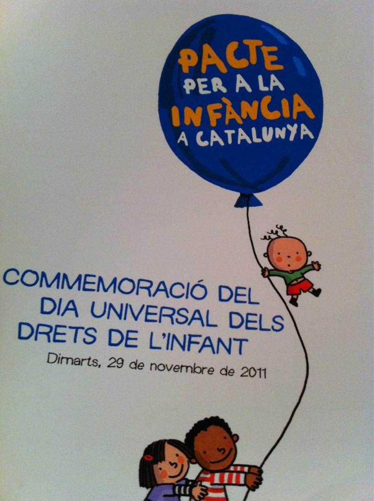 presentació del pacte per la infància