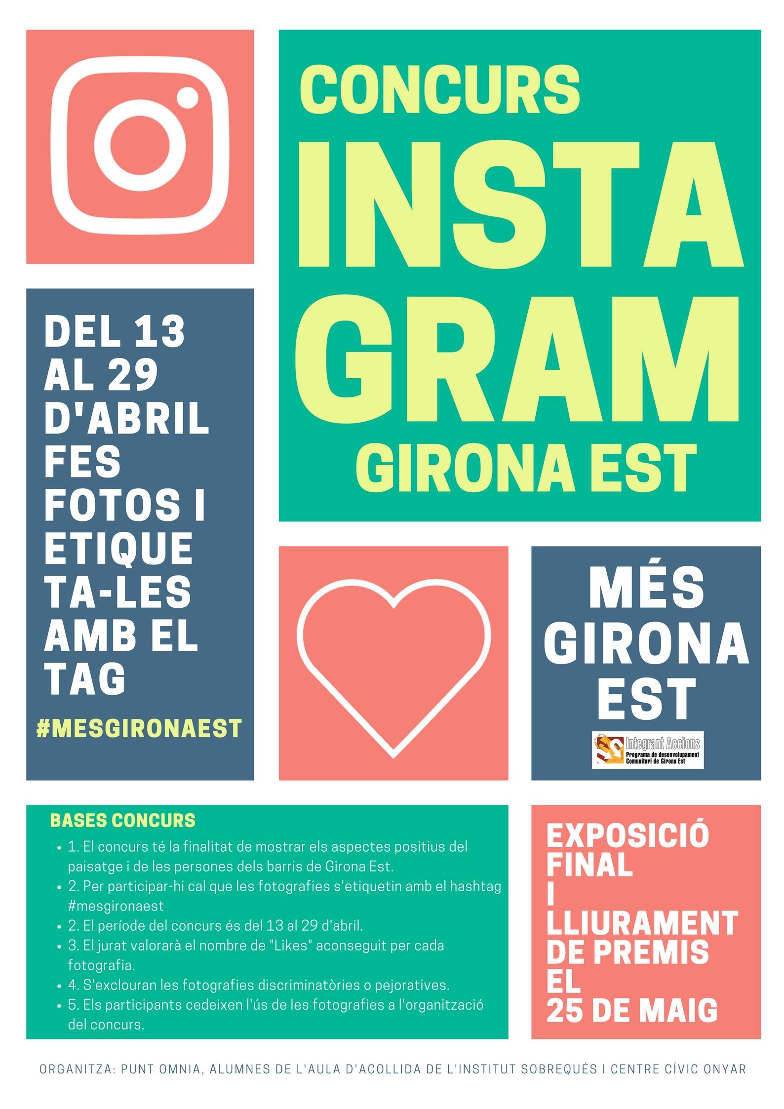 Concurs d'Instagram al Punt Òmnia Plataforma Educativa de Girona