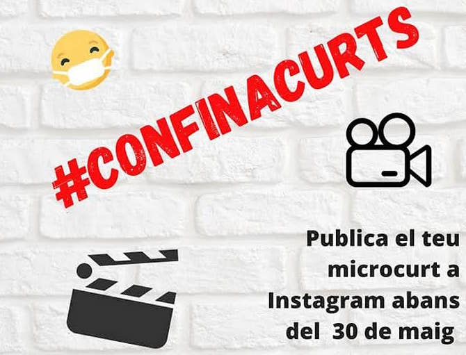 Part del cartell del VI Festival Juvenil de Microcurts Districte 6 de Sabadell