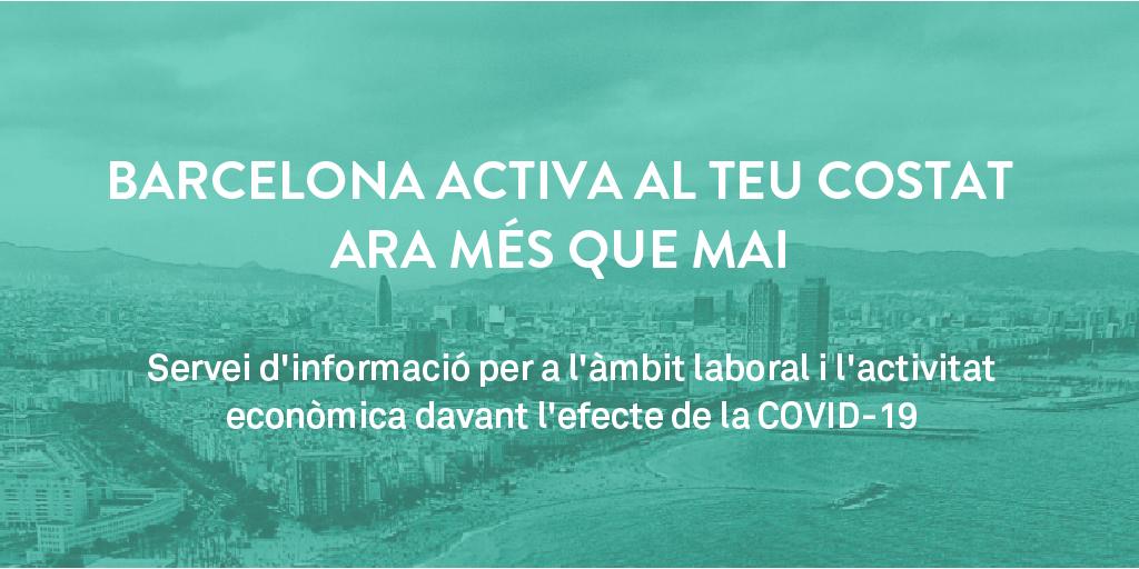 Barcelona Activa al teu costat