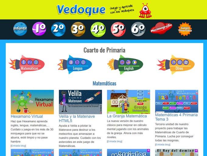 Captura de pantalla de Vedoque
