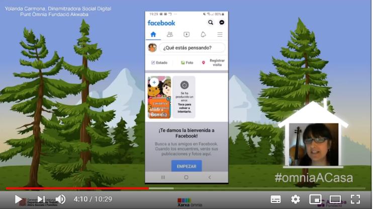 Captura de pantalla del videtutorial