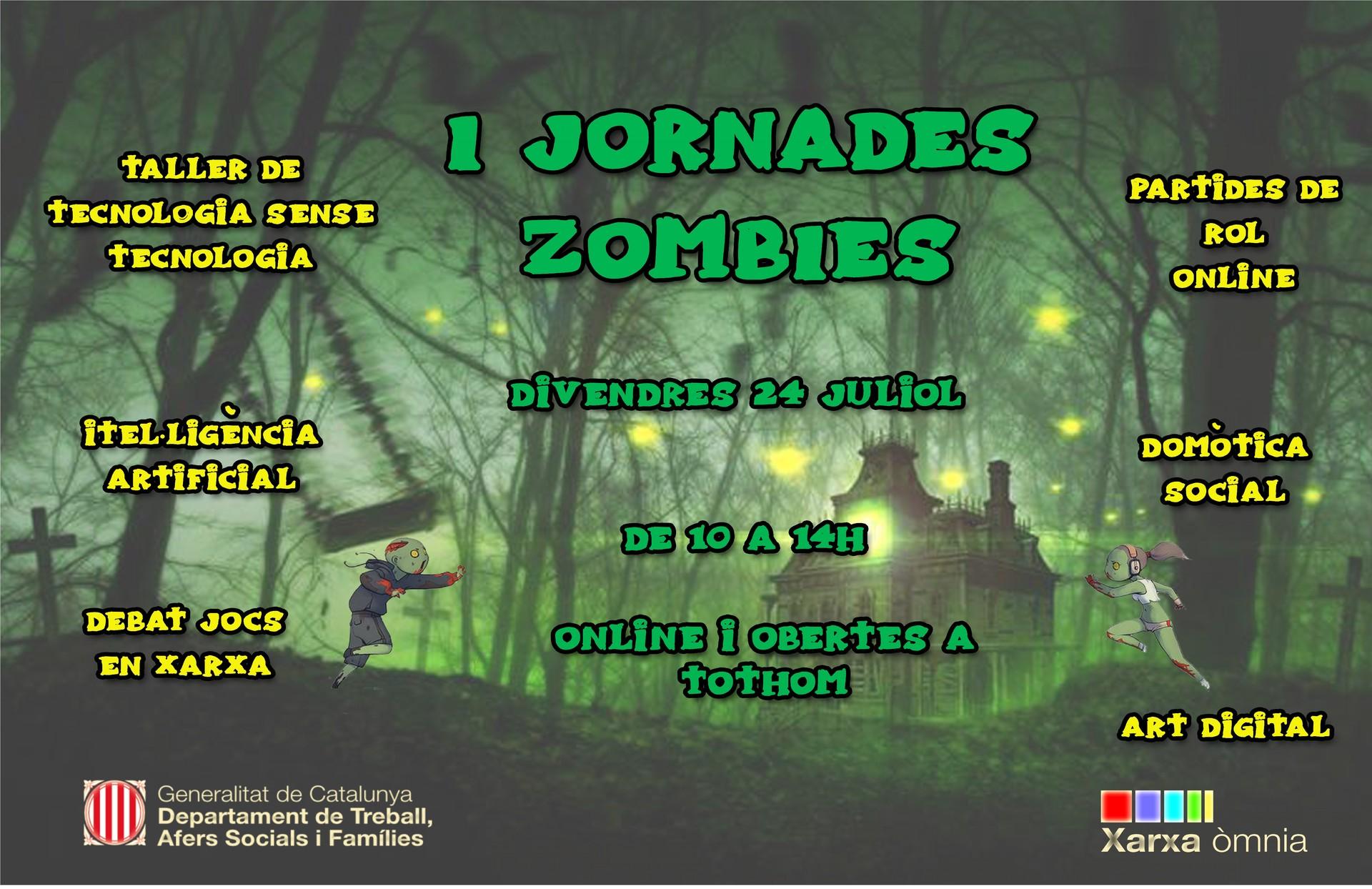 Cartell de les I Jornades Zombies