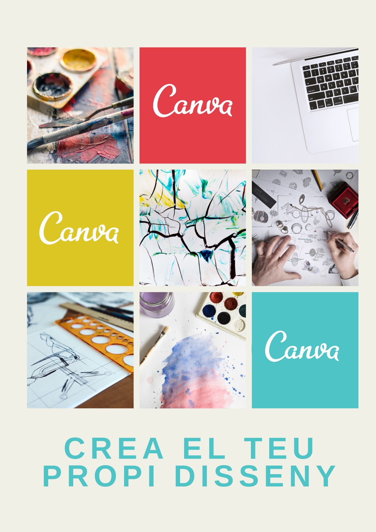 Portada del manual sobre Canva