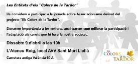 Invitació Jornada de Associacionisme, barris de La Salut i Llefià de Badalona