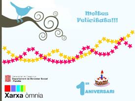 Felicitació bloc de Sanfeliu - Sant Ildefons