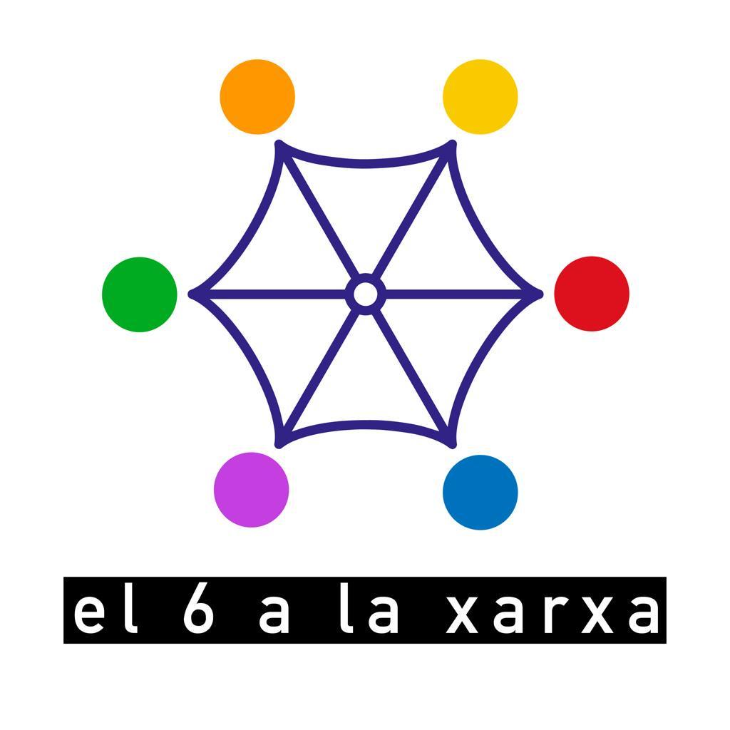 Logotip de 'El 6 a la xarxa'
