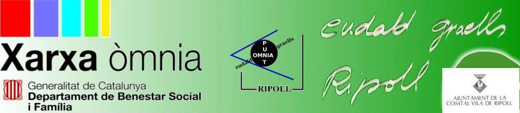 Logotips del Punt Òmnia Eudald Graells de Ripoll