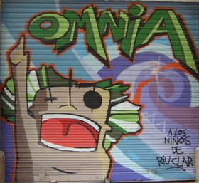 Imatge grafiti Riuclar Tarragona