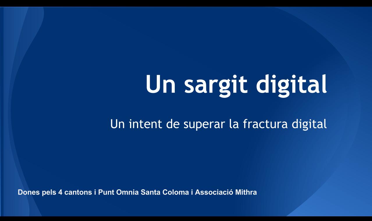 imatge presentació projecte