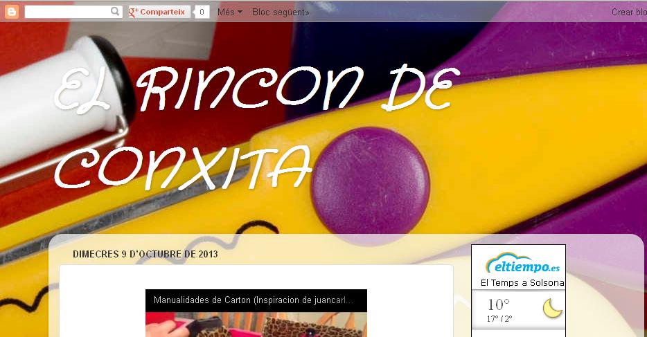 "imatge blog ""El rincón de Conxita"""