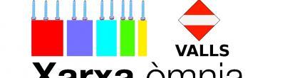 logotip xarxa omnia amb escut de valls