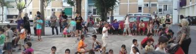 foto infants al carrer