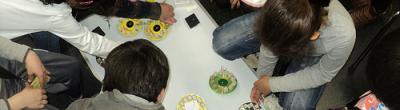 Imatge del taller de reciclatge TIC