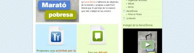 Captura del bloc de la MaratÒmnia