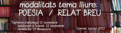 cartell concurs literari Fundació ADSIS
