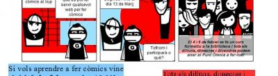 cartell del concurs de còmics punt òmnia xup