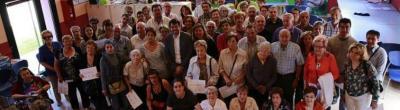 foto grup lliurament diplomes La Seu