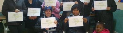 participants curs manipulador d'aliments amb diplomes