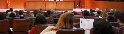 """foto auditori jornada """"Noves mirades a l'acció comunitària"""" del 28 de novembre"""