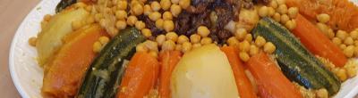 Un plat amb llegums i verdues