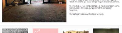 Captura de pantalla del blog Pioners TIC