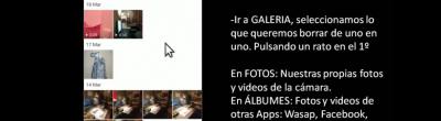 Captura del videotutorial sobre com alliberar memòria del mòbil