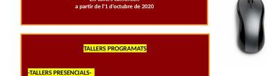 Cartell de la programació de tardor de la Seu d'Urgell