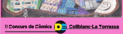 Cartell del concurs de còmics
