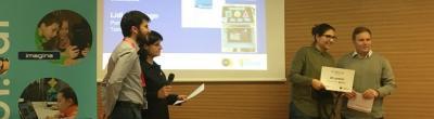 Lídia Santiago és l'autora del projecte 'Triagame' 2n classificat